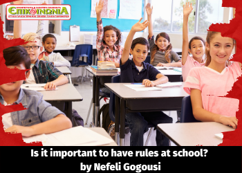 Is it important to have rules at school?
