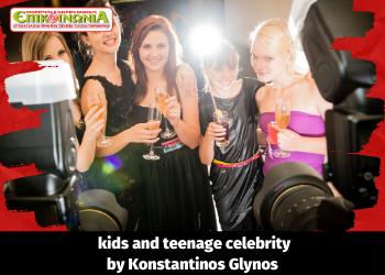 Kids and teenage celebrity