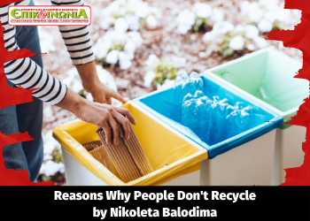 Reasons why people don't Recycle